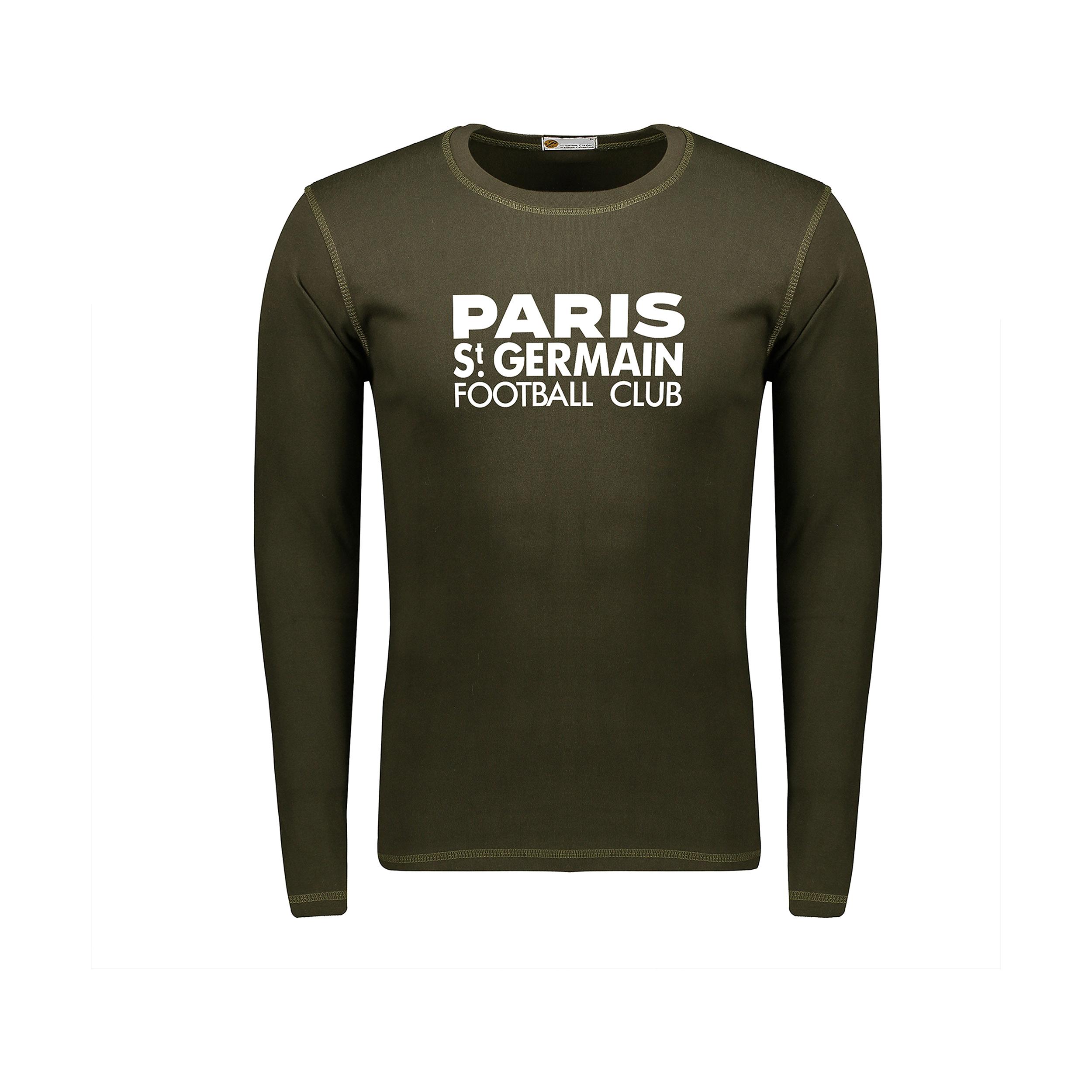 تصویر تیشرت آستین بلند مردانه پاتیلوک طرح Paris کد 330799