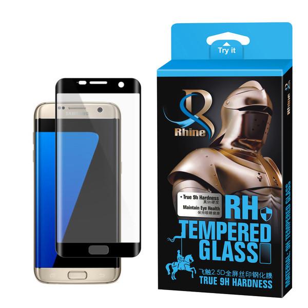 محافظ صفحه نمایش 9D راین مدل R-9EG مناسب برای گوشی موبایل سامسونگ Galaxy S7 Edge