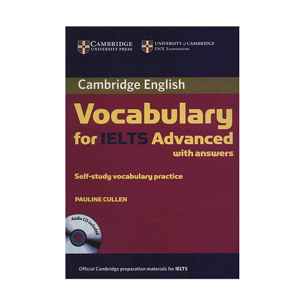 کتاب زبان Cambridge Vocabulary For IELTS Advance اثر پولین کالن