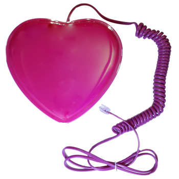 تصویر تلفن طرح قلب کد 088