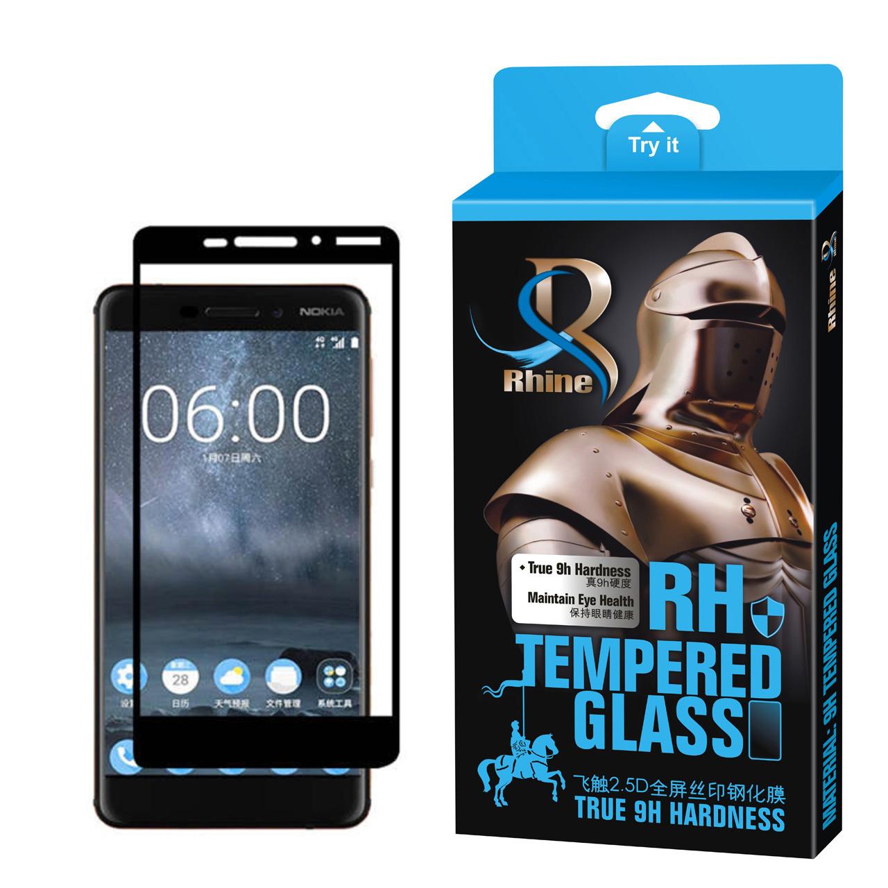 محافظ صفحه نمایش 9D راین مدل R-9 مناسب برای گوشی موبایل نوکیا 6.1