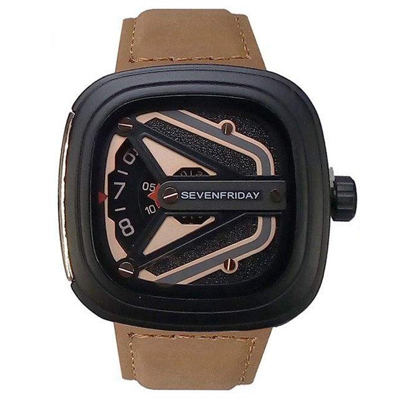 کد تخفیف                                      ساعت مچی عقربه ای مردانه مدل M-LBR                     غیر اصل