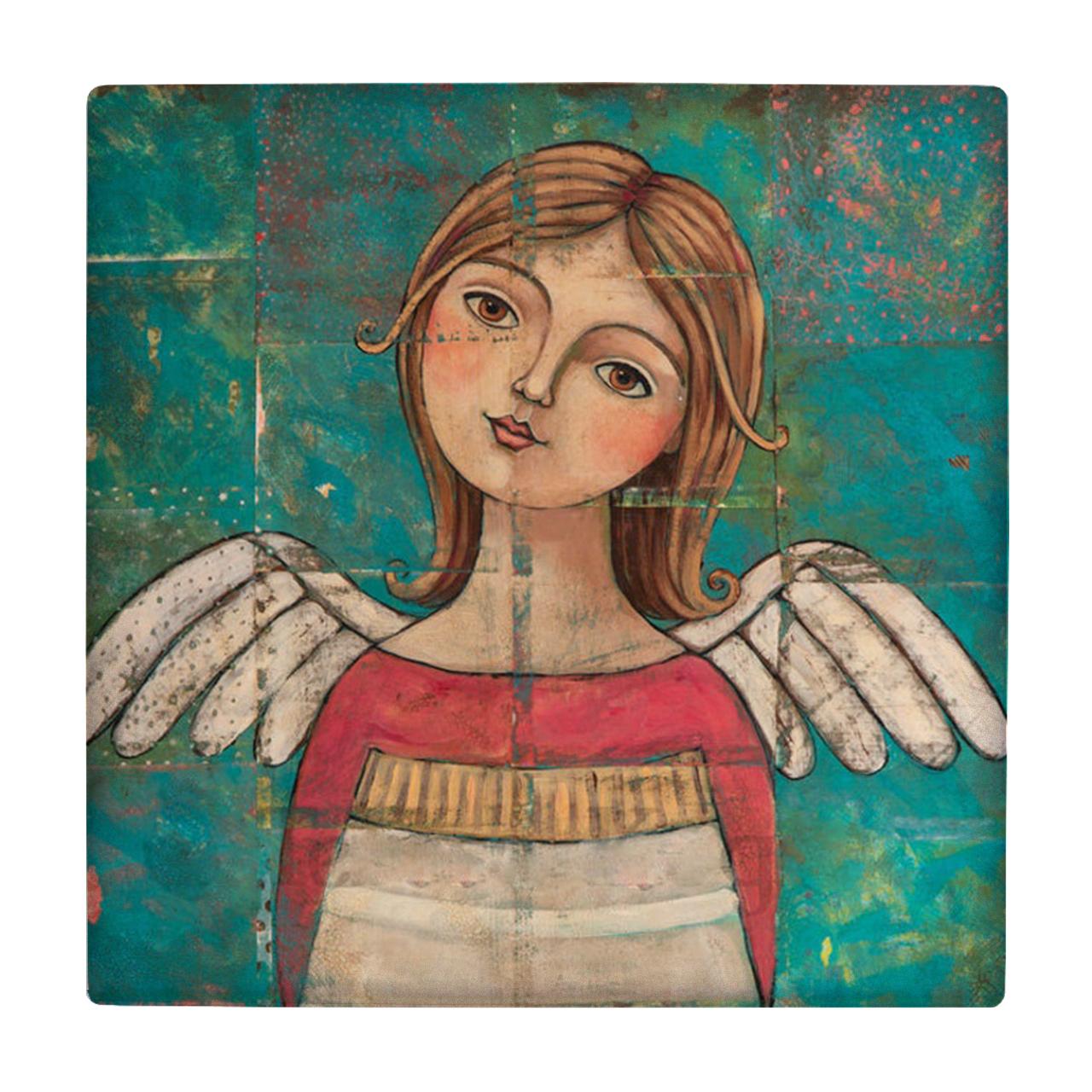 خرید                      کاشی طرح فرشته کد wk193
