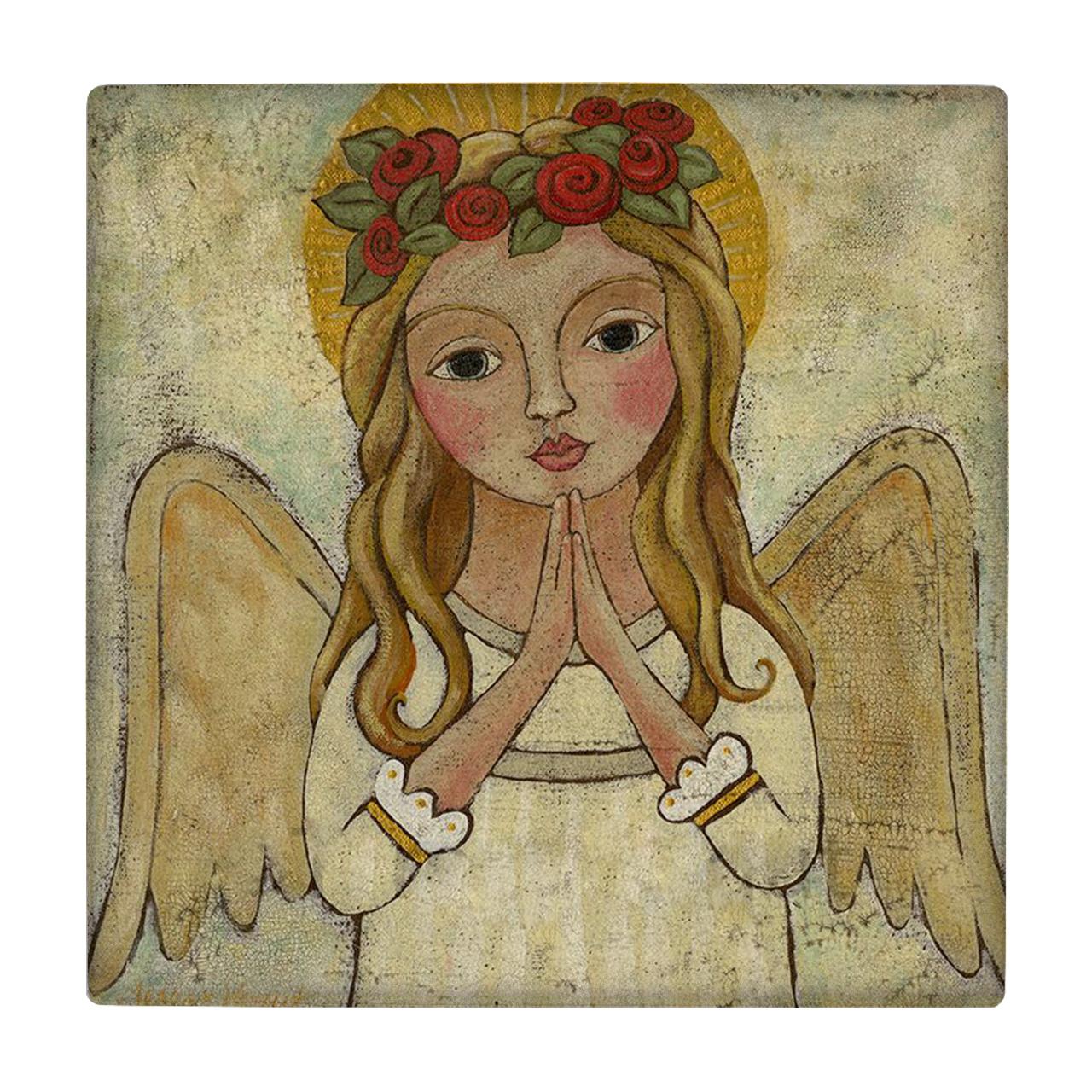 خرید                      کاشی طرح فرشته کد wk194