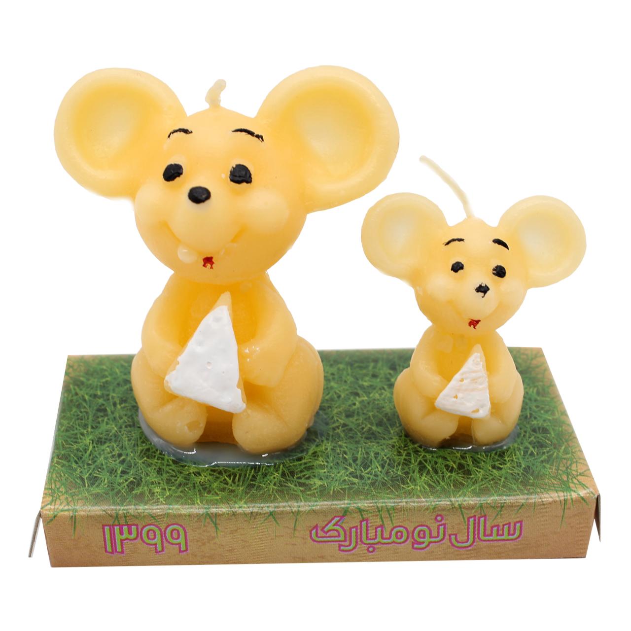 شمع طرح دو موش مدل GH-003