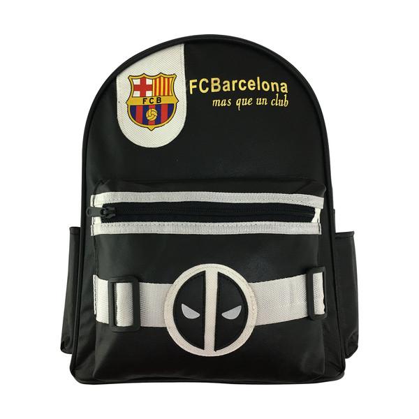 کوله پشتی پسرانه طرح بارسلونا کد 841