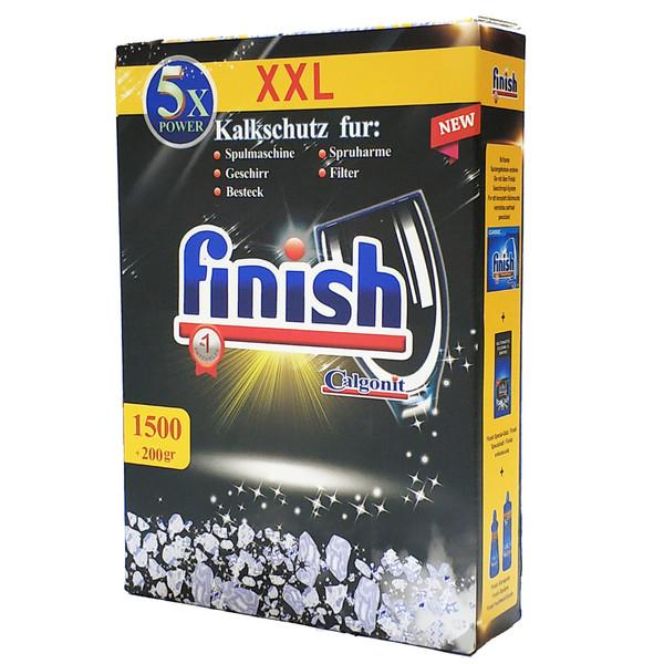 نمک ماشین ظرفشویی فینیش مدل XXL وزن 1700 گرم