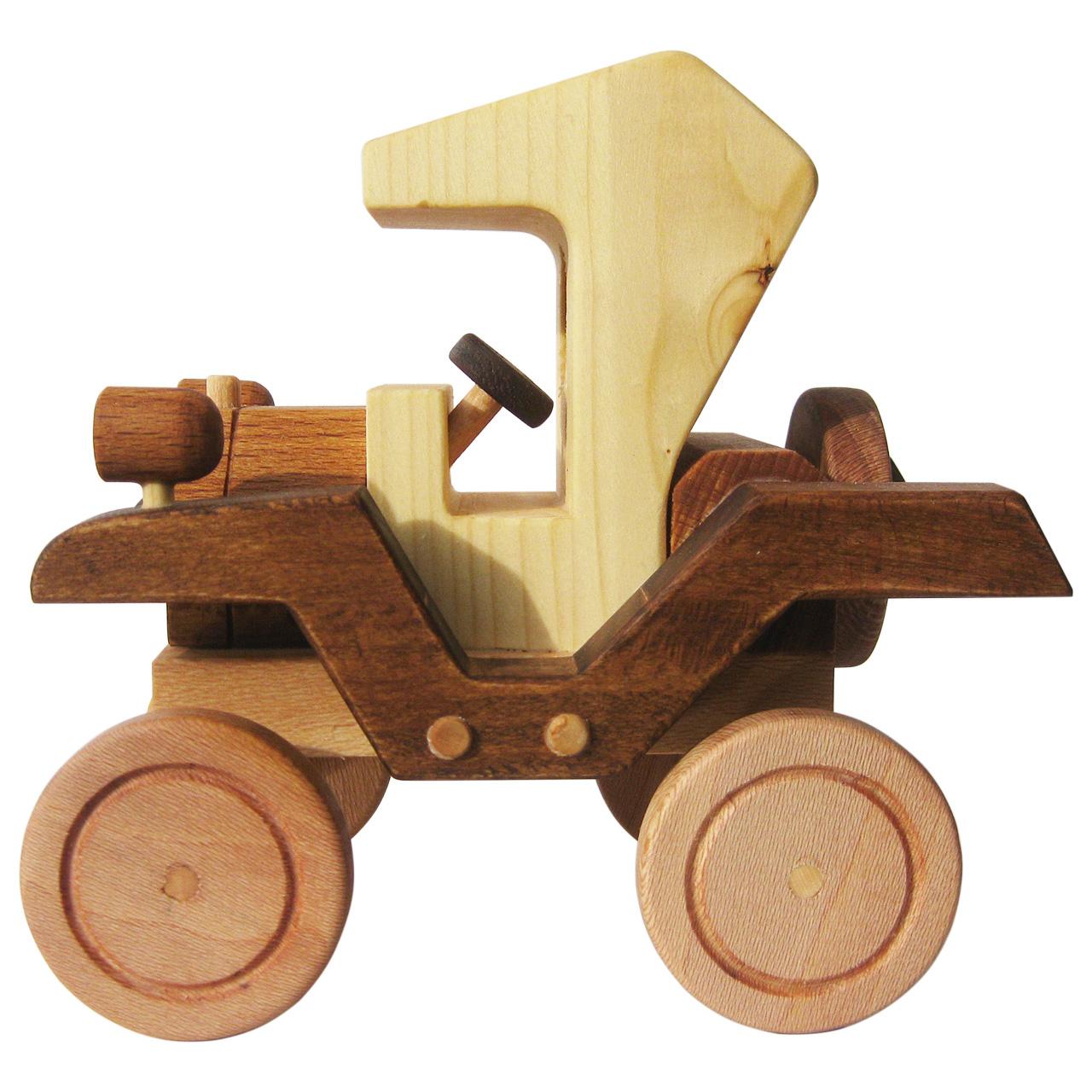 خرید                      اسباب بازی چوبی مدل Ford T