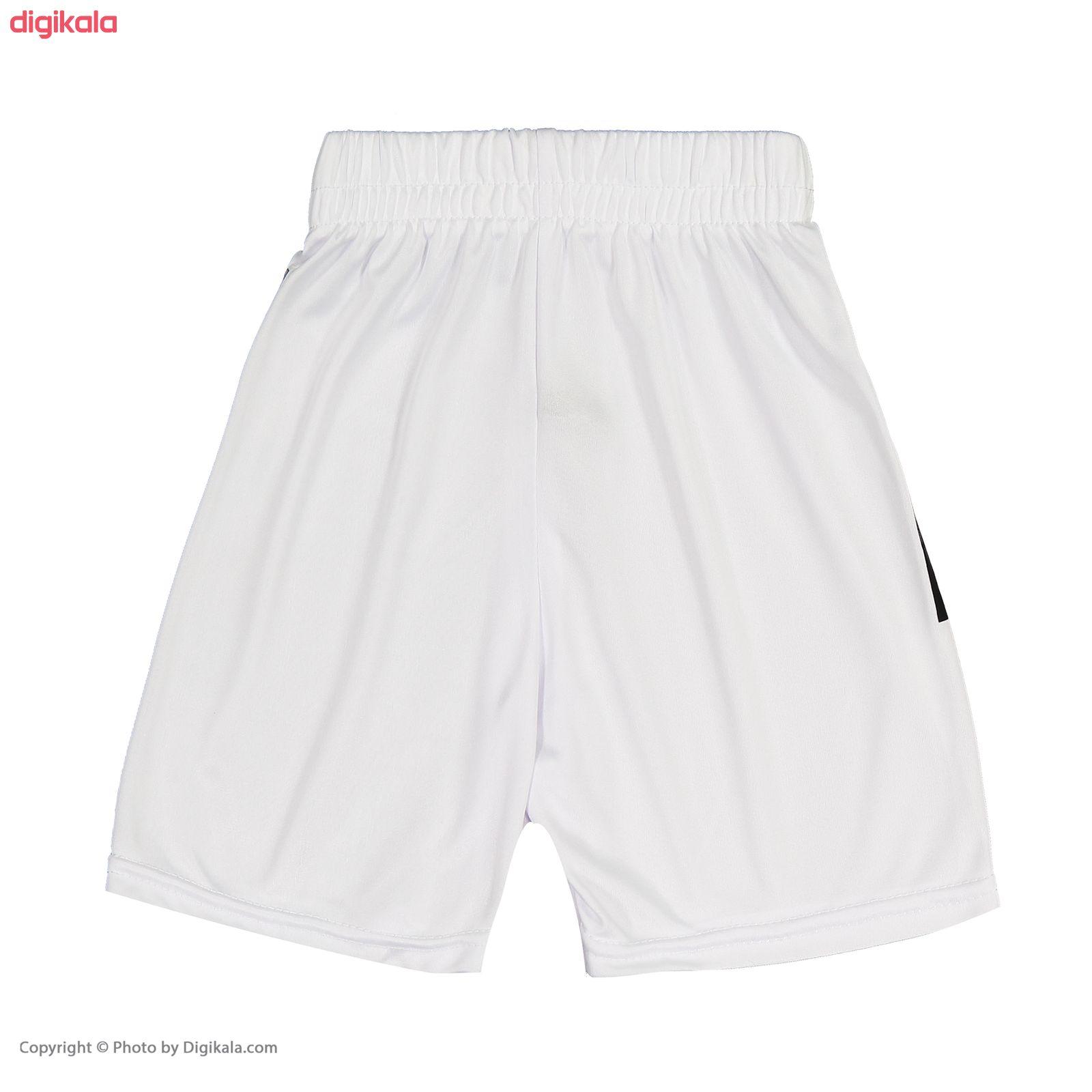 ست پیراهن و شورت ورزشی پسرانه طرح یوونتوس مدل رونالدو کد p.sh.007 main 1 6