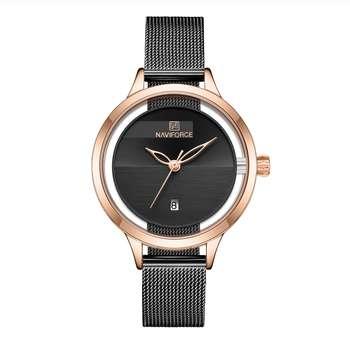 ساعت مچی عقربه ای زنانه نیوی فورس مدل NF5014 RGB