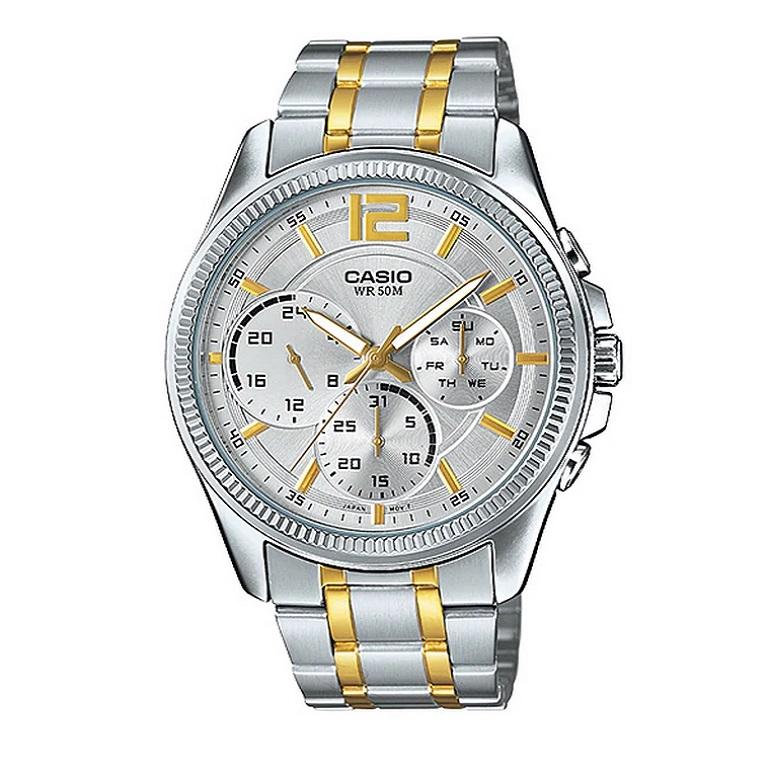 ساعت مچی  مردانه کاسیو مدل MTP-E305SG-9AVDF              اصل