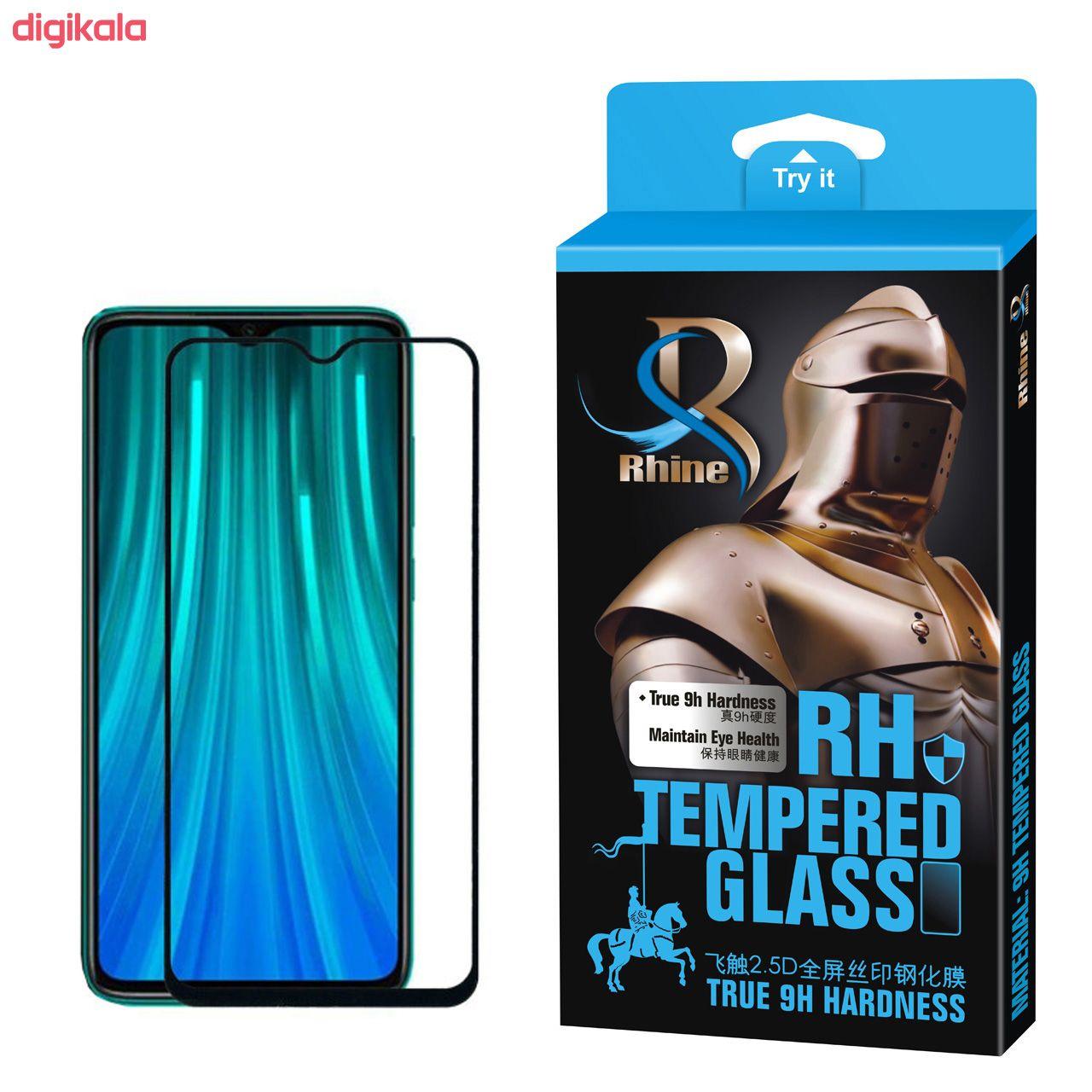 محافظ صفحه نمایش 9D راین مدل R-9 مناسب برای گوشی موبایل شیائومی Redmi Note8 main 1 1