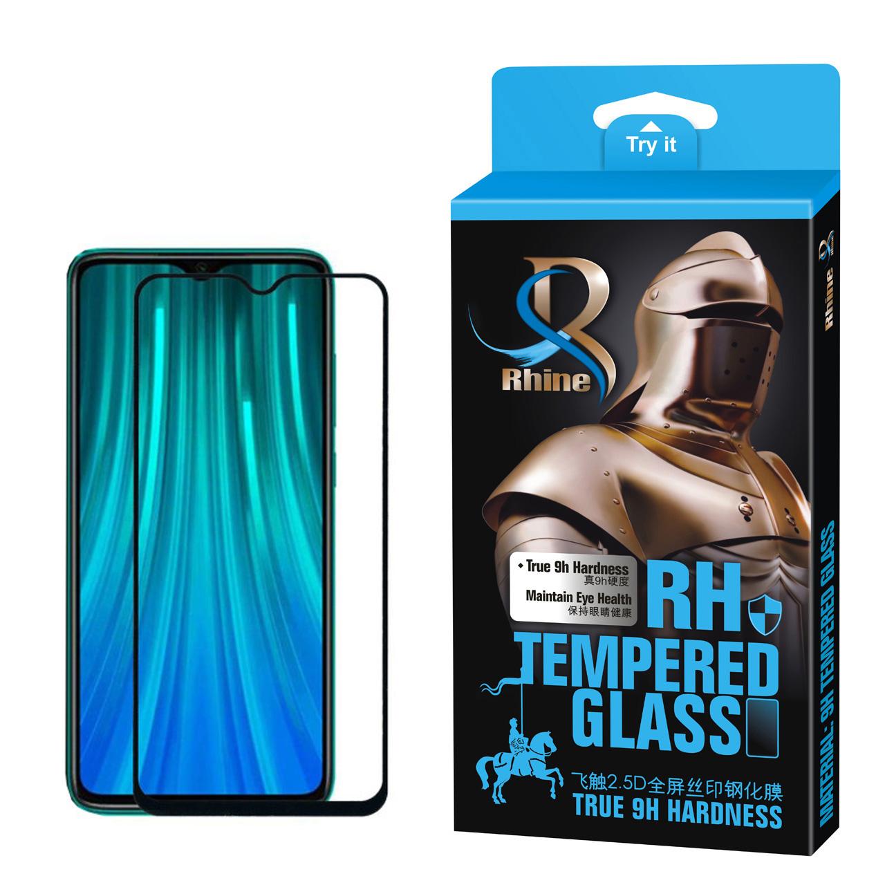 محافظ صفحه نمایش 9D راین مدل R-9 مناسب برای گوشی موبایل شیائومی Redmi Note8 Pro