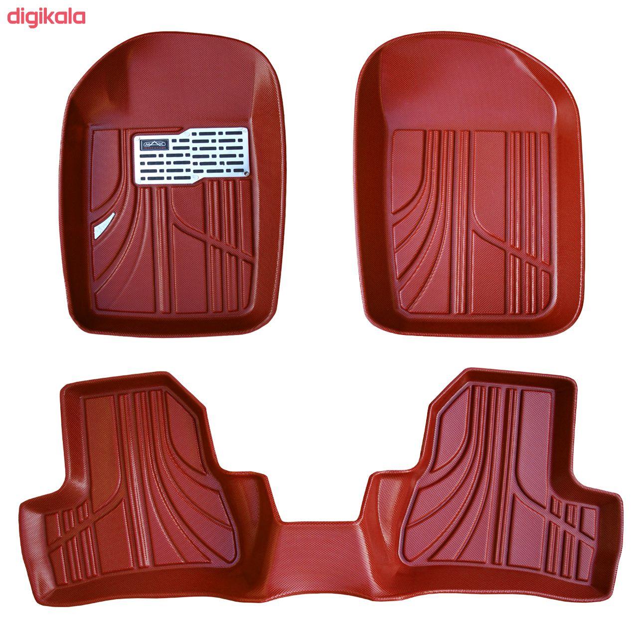 کفپوش سه بعدی خودرو مکس مدل K011 مناسب برای پژو 206 main 1 2