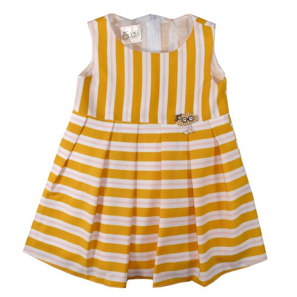 پیراهن دخترانه نیروان کد 1048-4