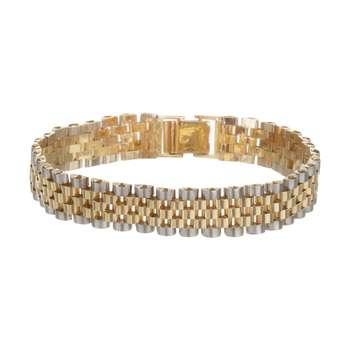دستبند طلا 18 عیار زنانه آلند کد H45