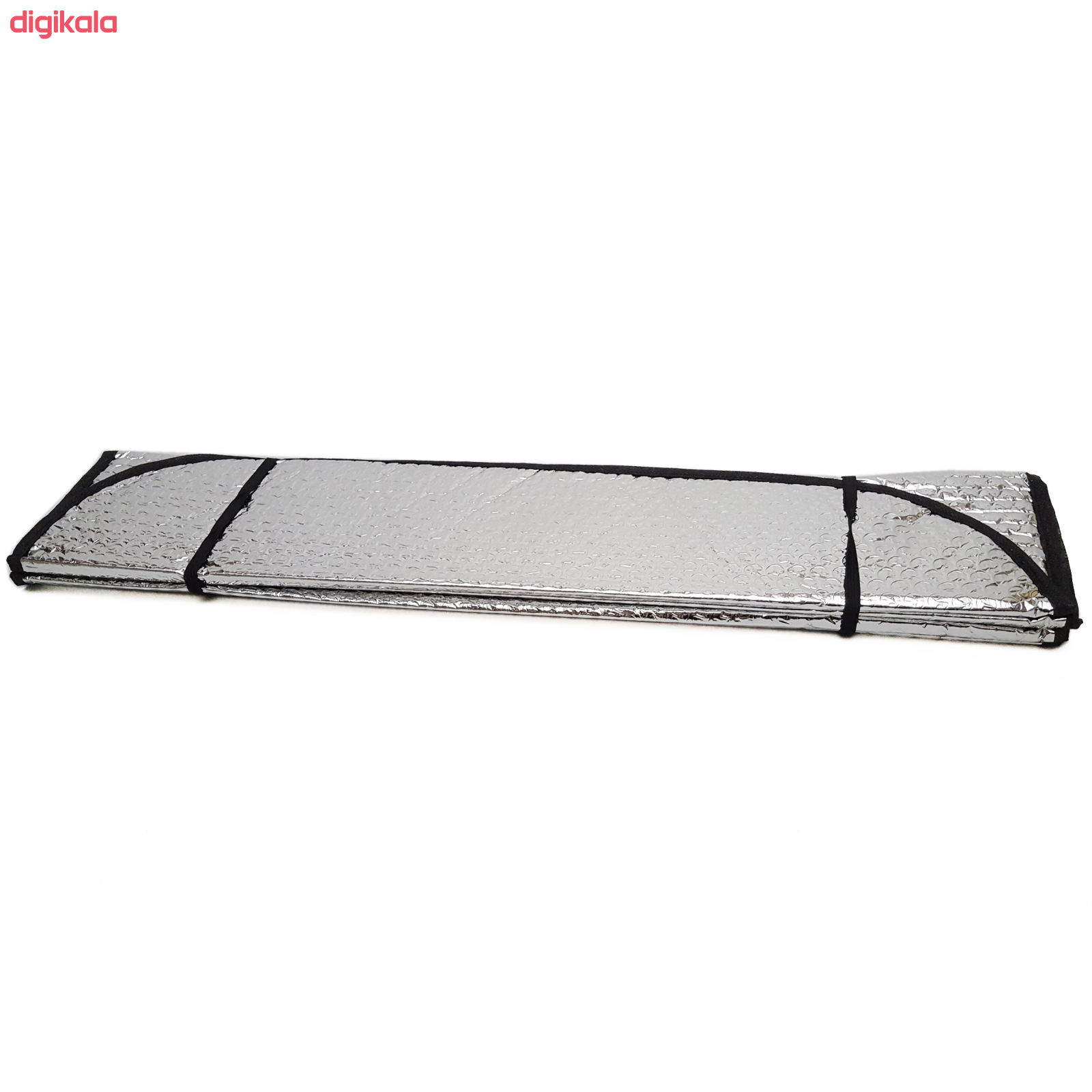 آفتابگیر شیشه جلو خودرو طرح آکاردئونی مدل Mhr-325-S main 1 1
