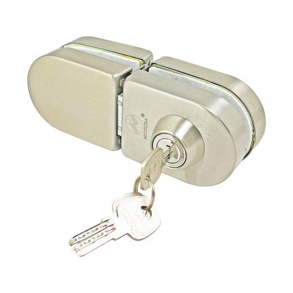 قفل درب شیشه ای میتسوبا کد 100