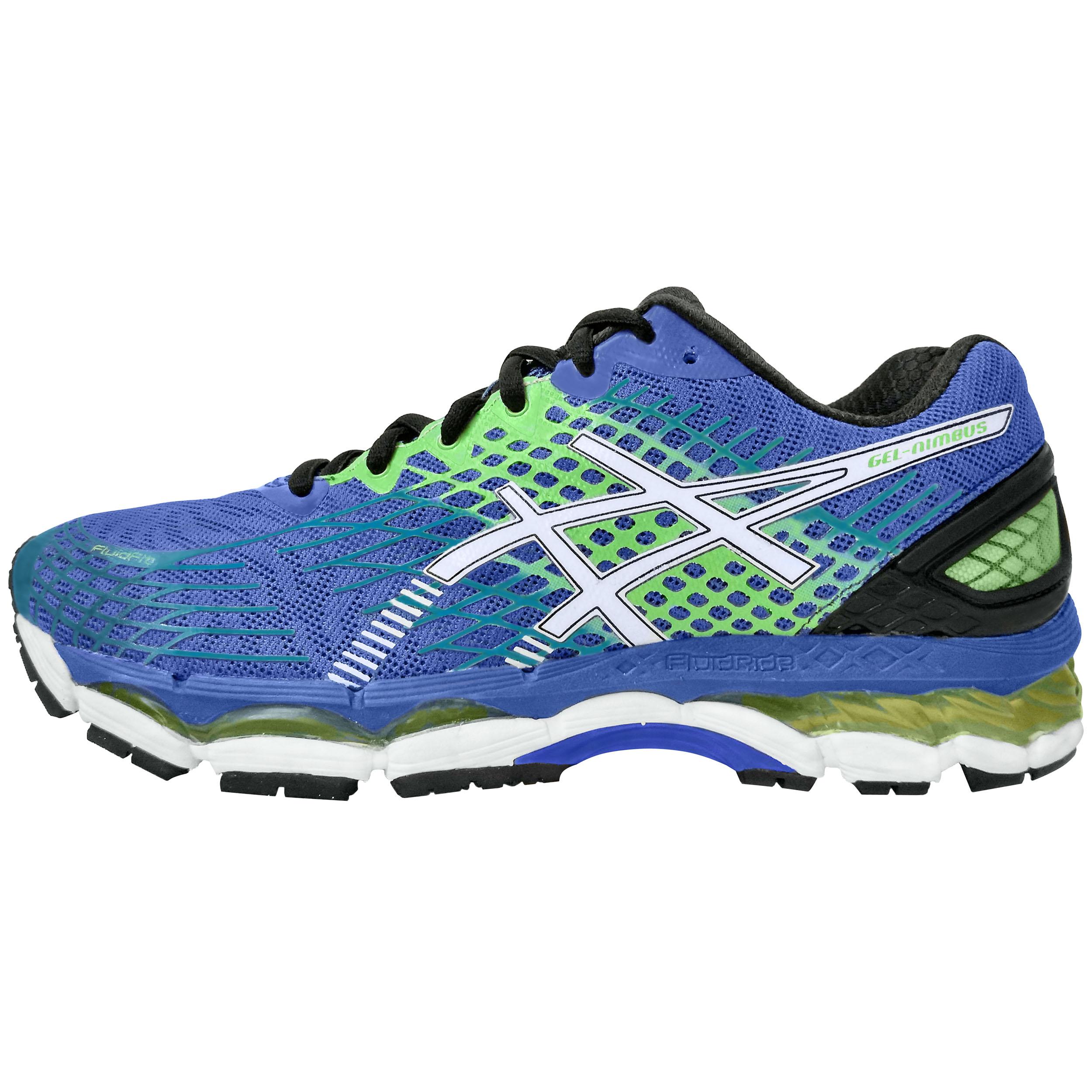 کفش مخصوص پیاده روی اسیکس مدل gel nimbus 17 FluidFit