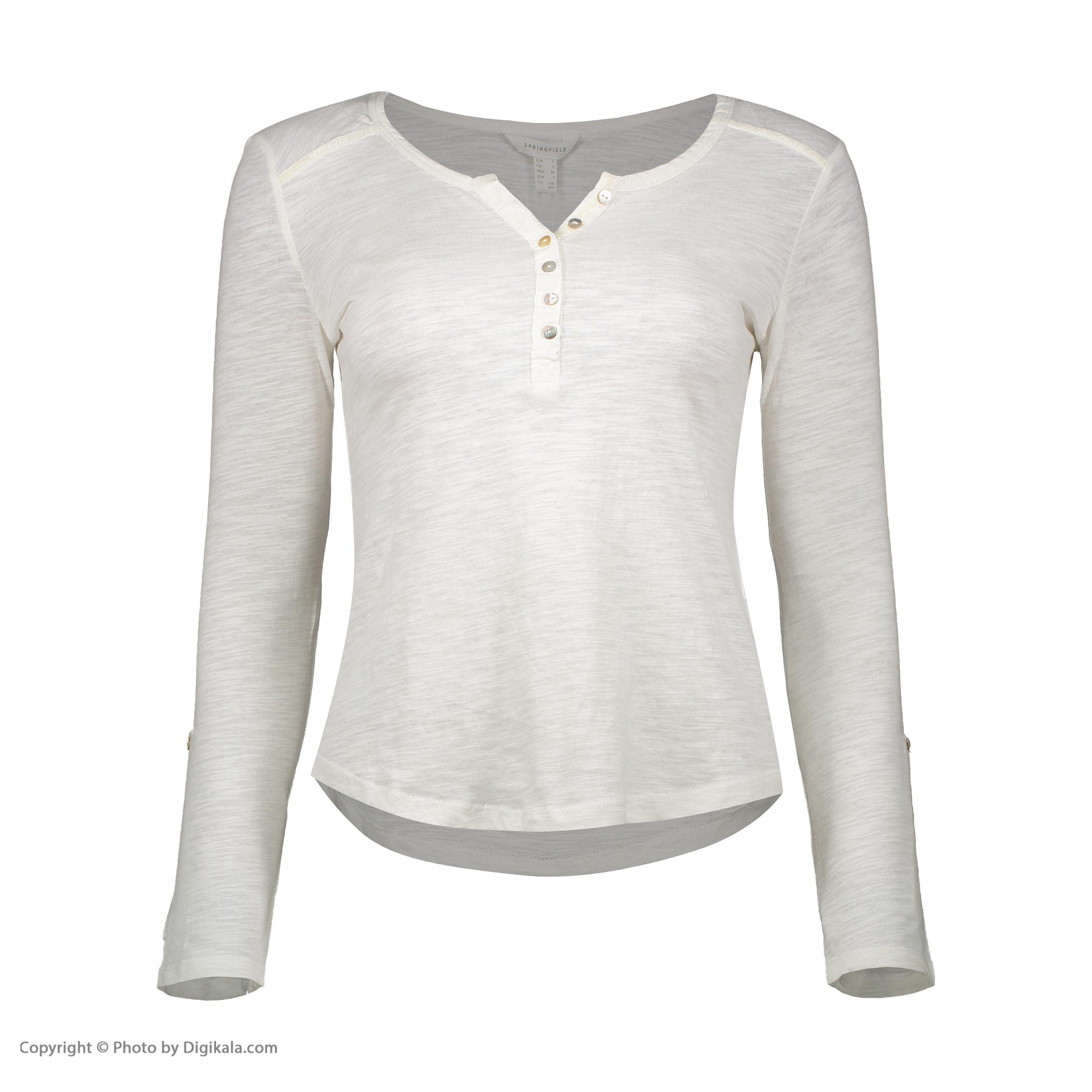 تی شرت نه اسپرینگ فیلد مدل 6763340-SEVERAL
