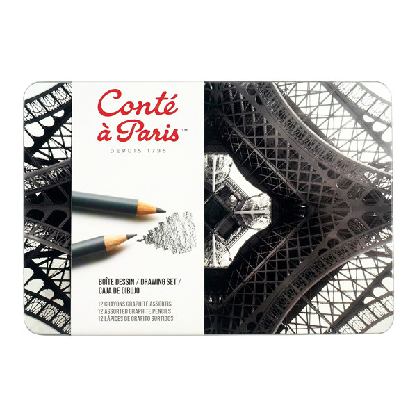 مداد طراحی کنته پاریس کد 42581 بسته 12 عددی