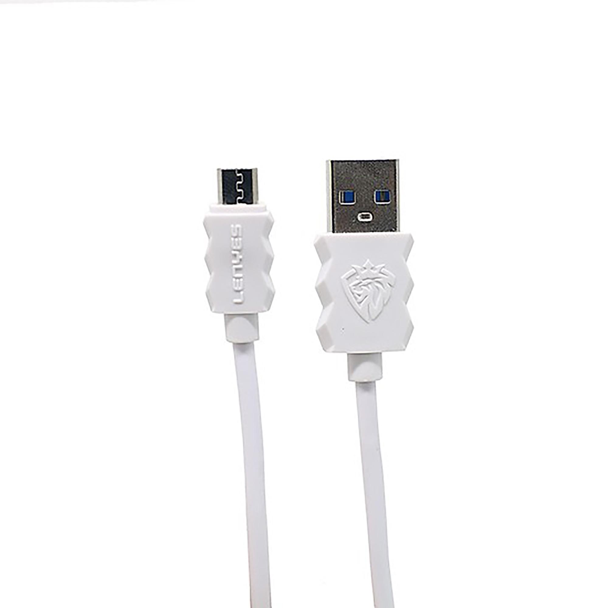 کابل تبدیل USB به microUSB لنیز مدل LC807 طول 1 متر