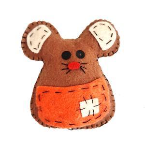 عروسک نمدی مدل موش کد 003
