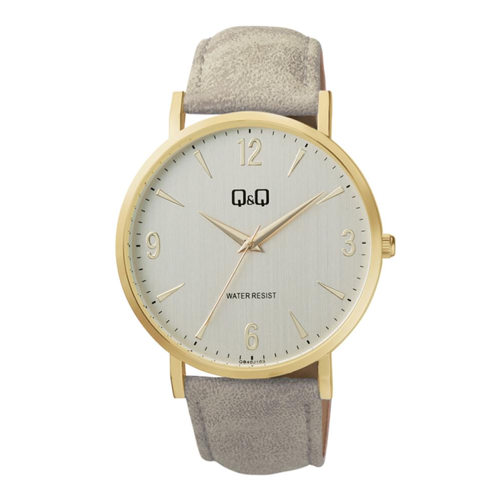ساعت مچی عقربه ای مردانه کیو اند کیو مدل QB40J103Y              خرید (⭐️⭐️⭐️)