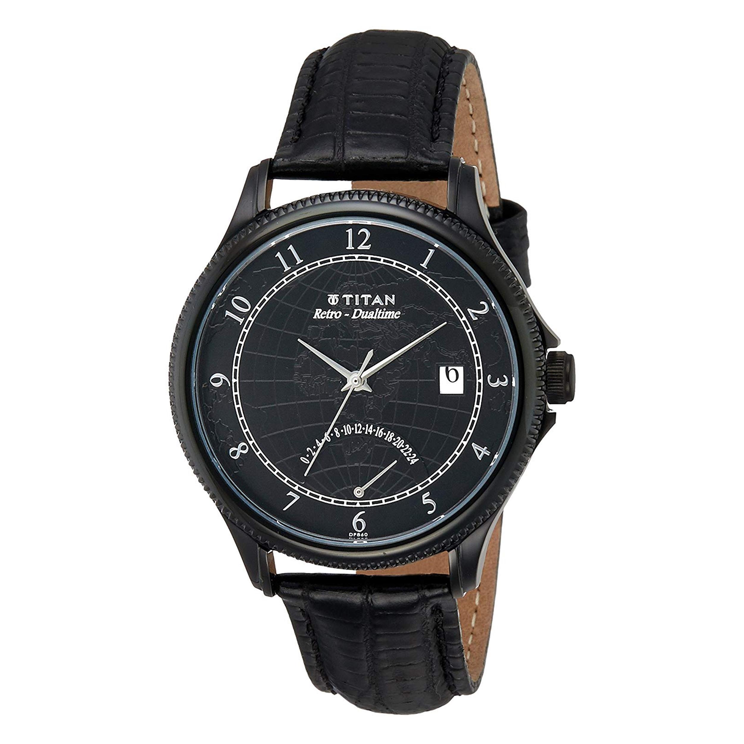 ساعت مچی عقربه ای مردانه تیتان مدل T1704NL01