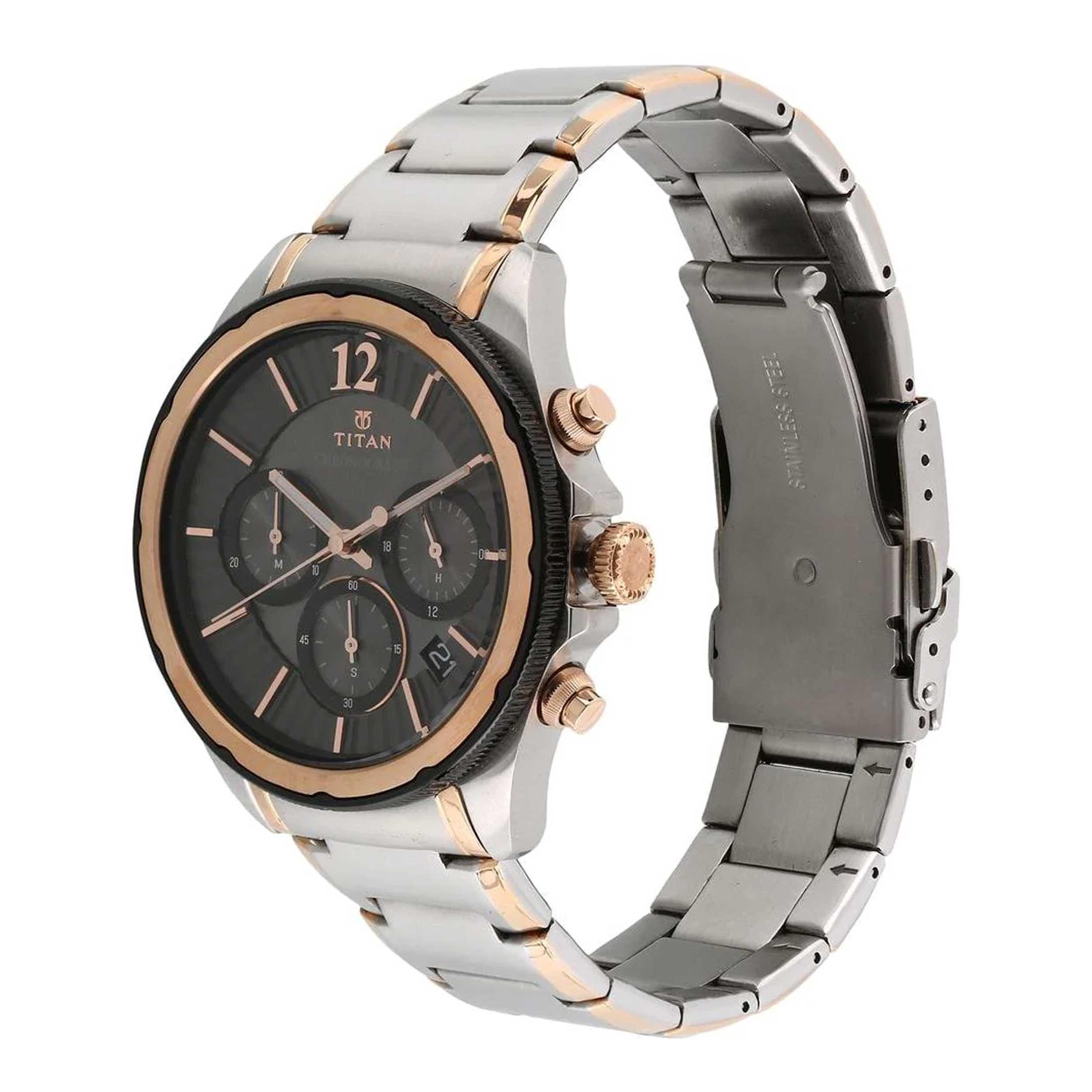ساعت مچی  مردانه تیتان مدل T1748KM01              اصل