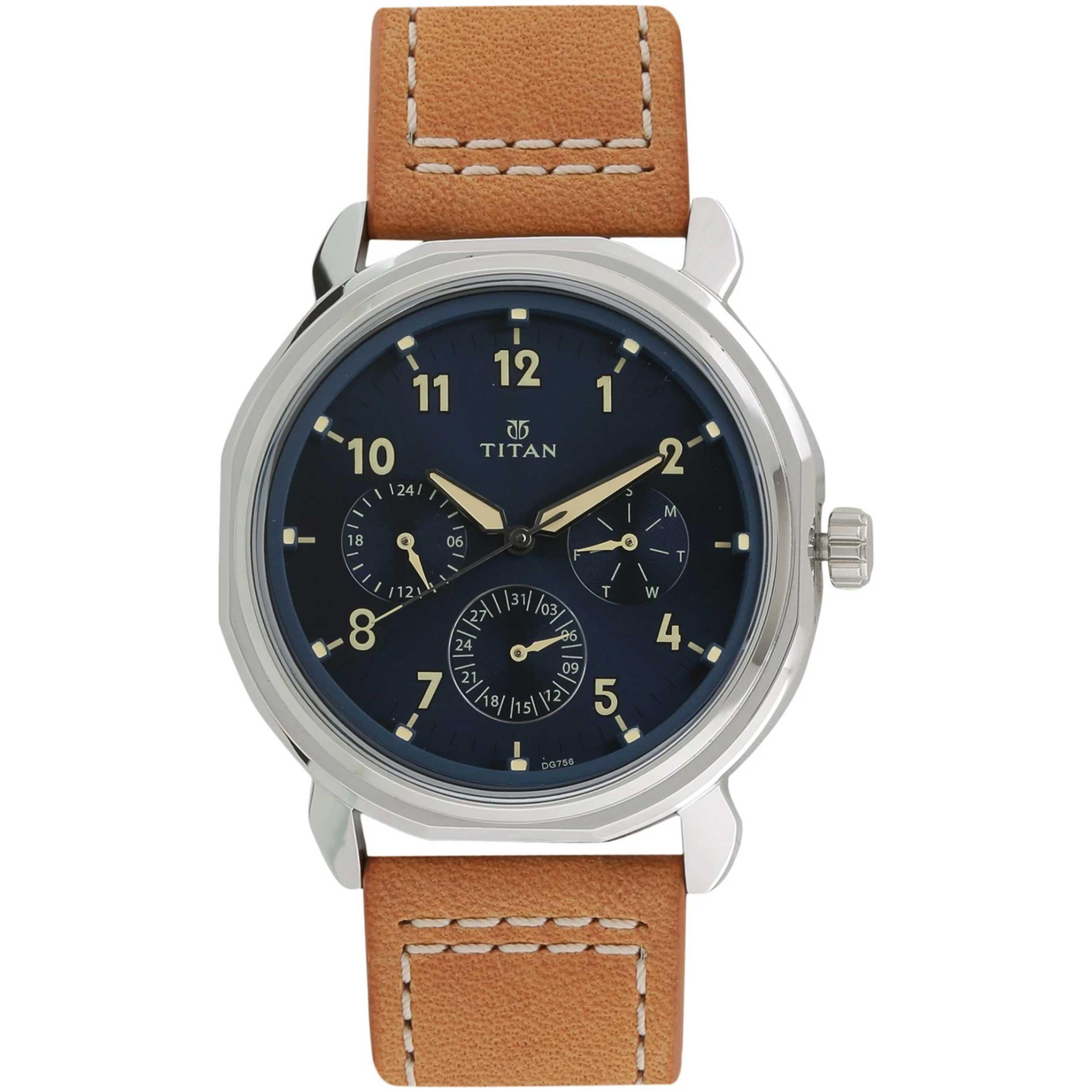 قیمت و خرید                      ساعت مچی عقربه ای مردانه تایتن مدل T1753SL01