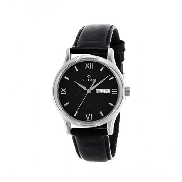 ساعت مچی عقربه ای مردانه تایتن مدل T1580SL04