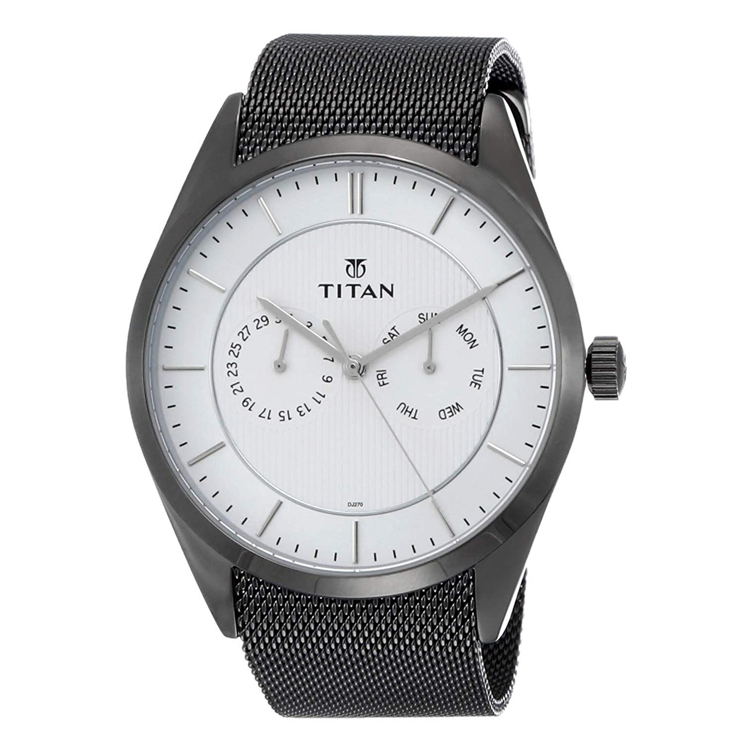 ساعت مچی عقربه ای مردانه تایتن مدل T90098QM01