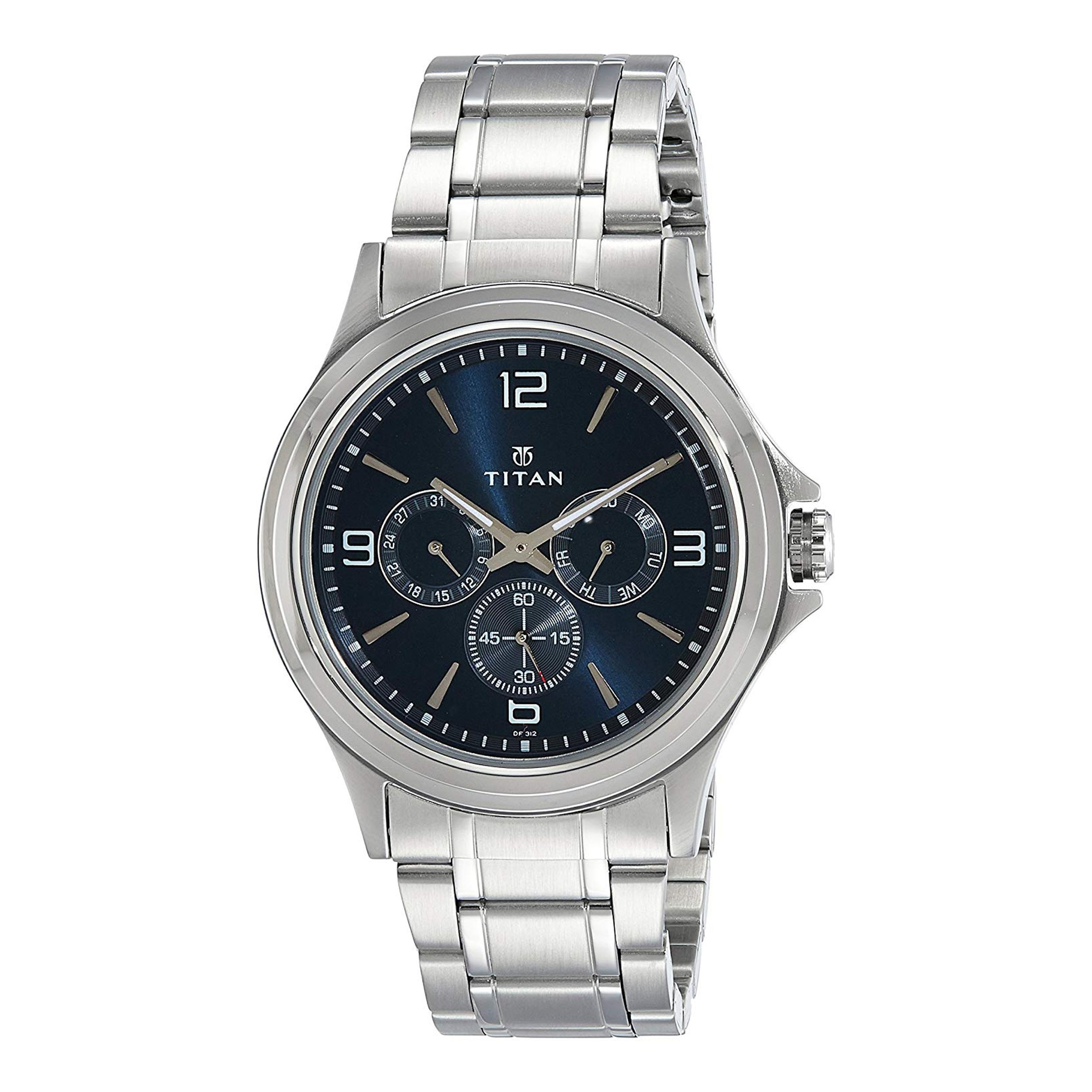 ساعت مچی عقربه ای مردانه تایتن مدل T1698SM02