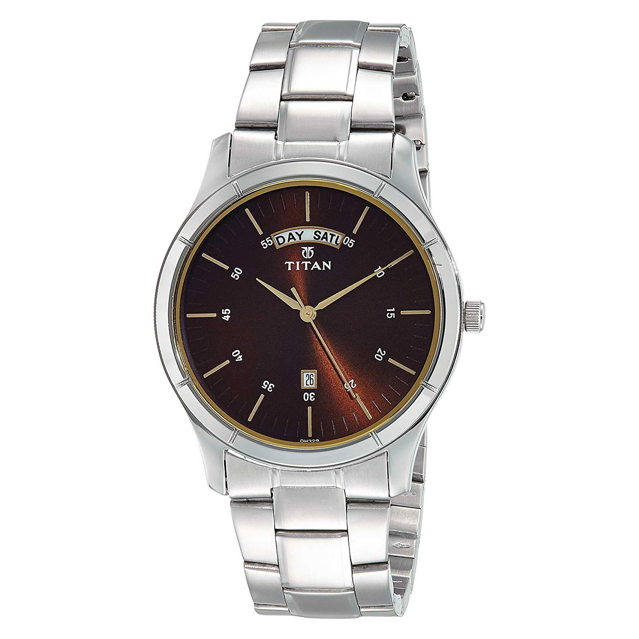 قیمت و خرید                      ساعت مچی عقربه ای مردانه تایتن مدل T1767SM03