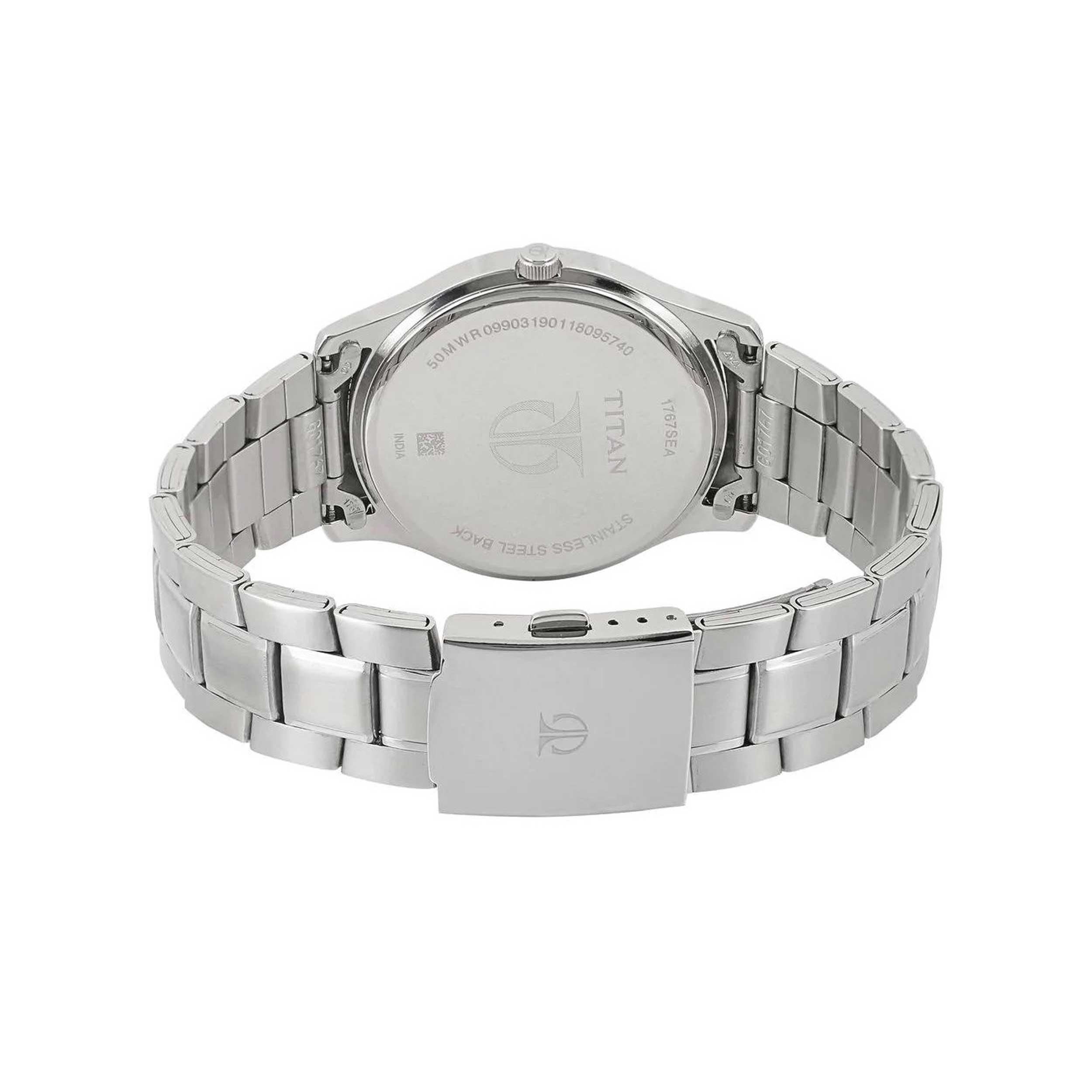 ساعت مچی عقربه ای مردانه تیتان مدل T1767SM03