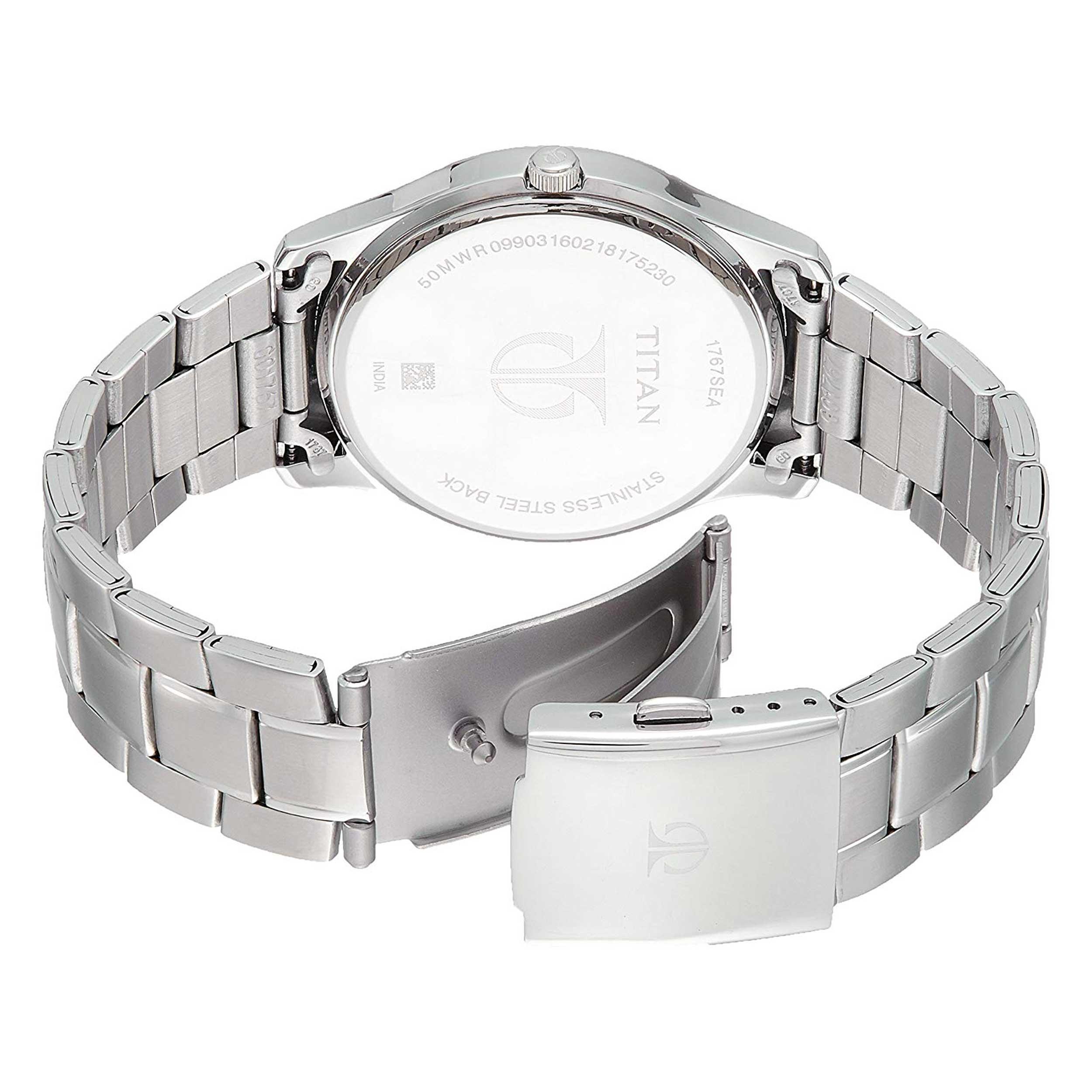 ساعت مچی عقربه ای مردانه تایتن مدل T1767SM03