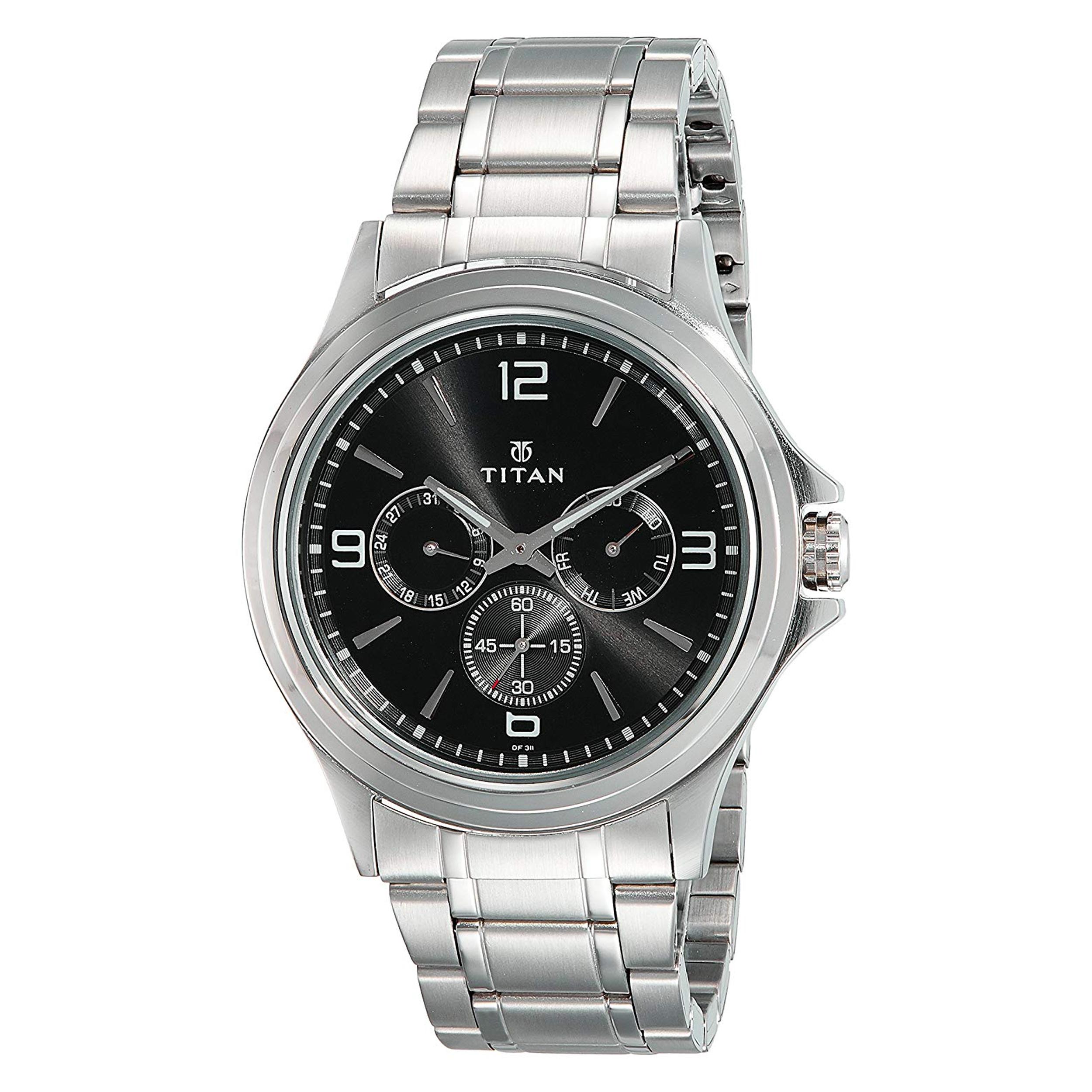 ساعت مچی عقربه ای مردانه تایتن مدل T1698SM01