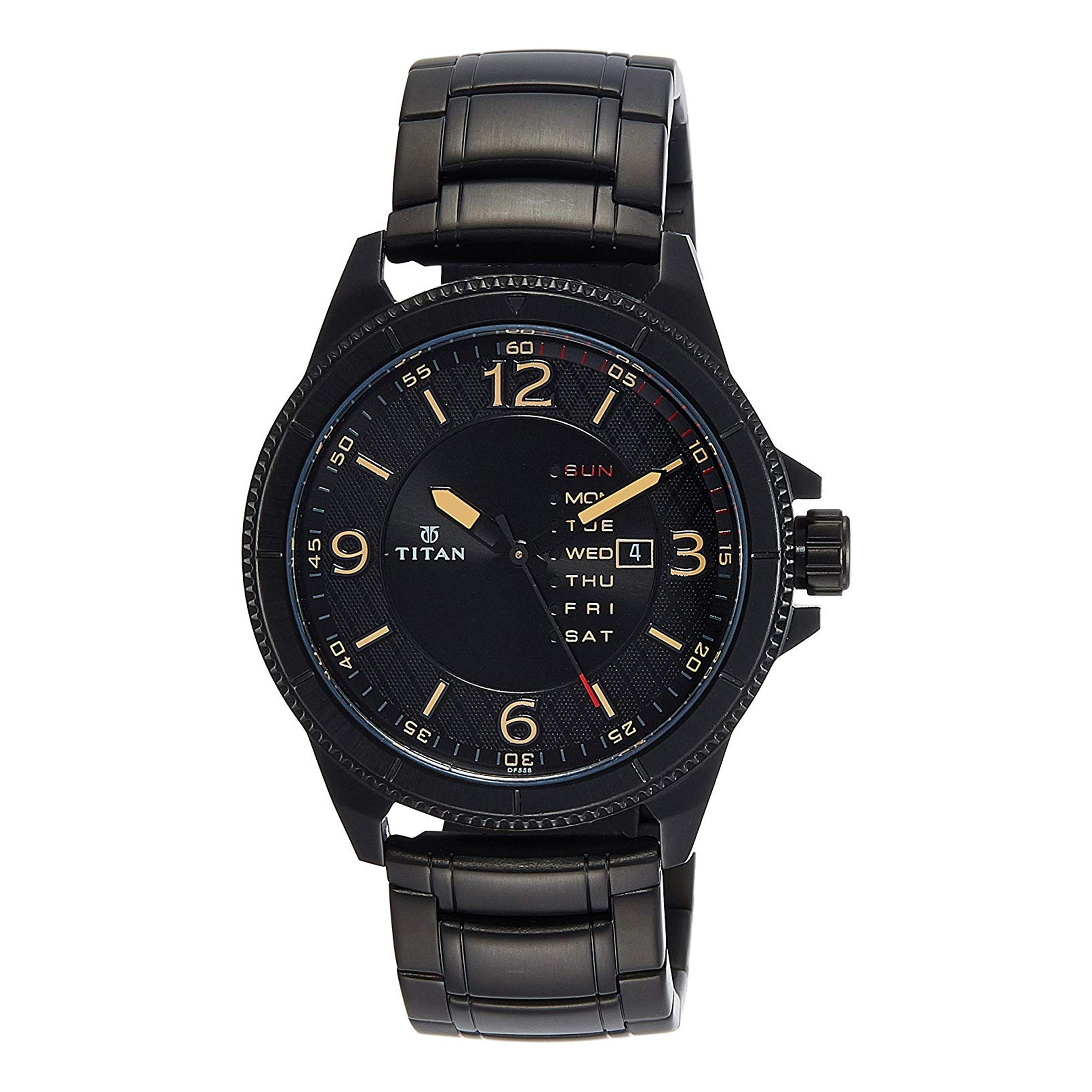 قیمت و خرید                      ساعت مچی عقربه ای مردانه تایتن مدل T1701NM01