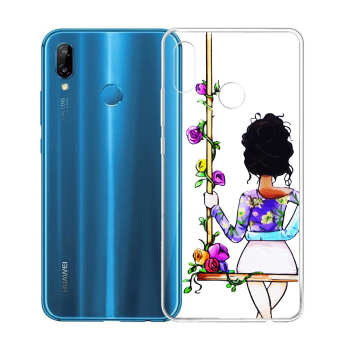 کاور طرح Girl مدل CLR-001 مناسب برای گوشی موبایل هوآوی Y7 Prime 2019