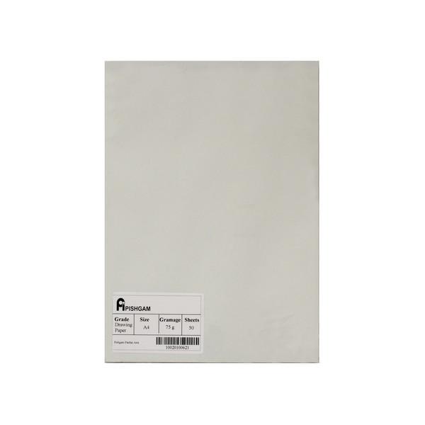 کاغذ A4 پیشگام مدل drawing2030 بسته 50 عددی