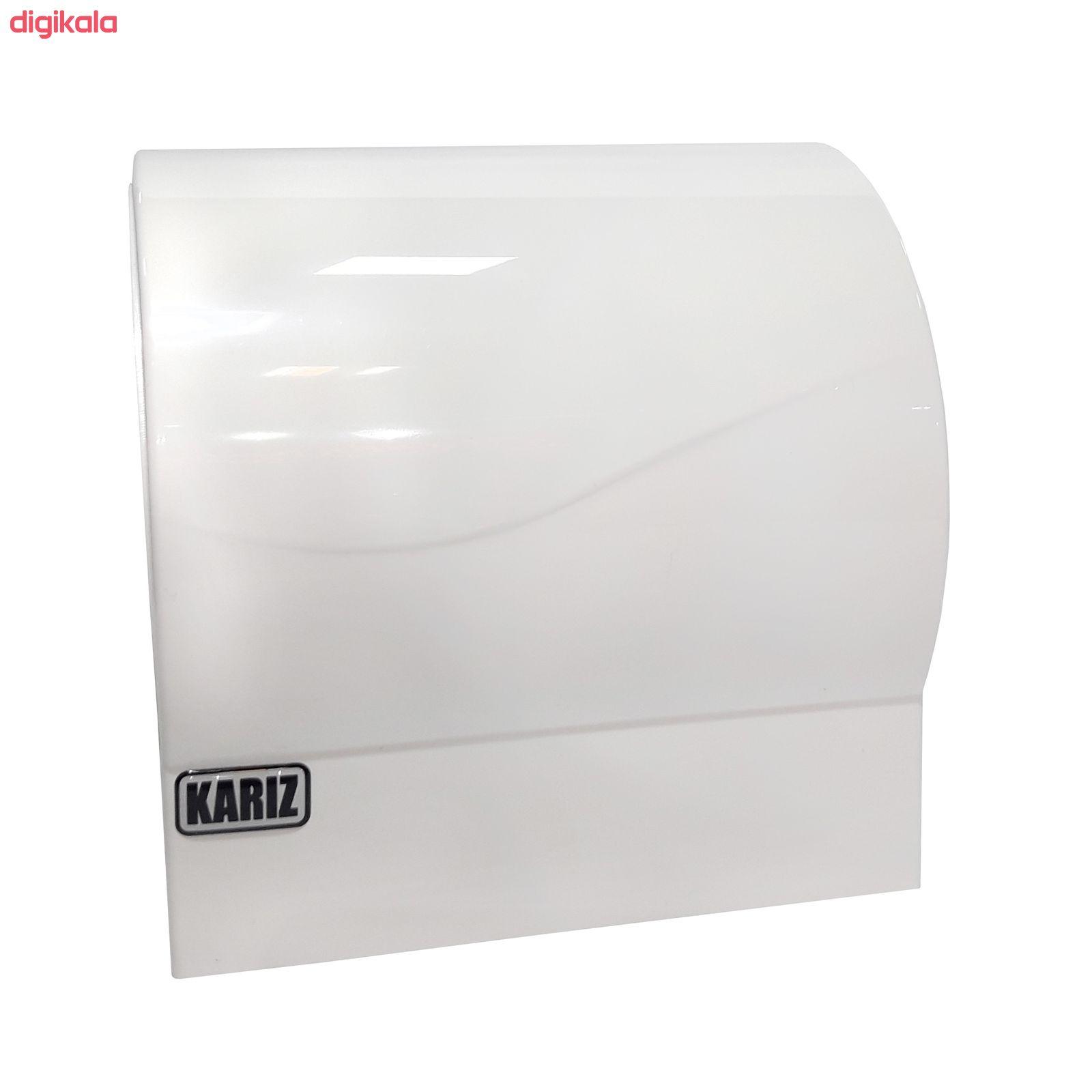 پایه رول دستمال کاغذی کاریز مدل دلسا main 1 2