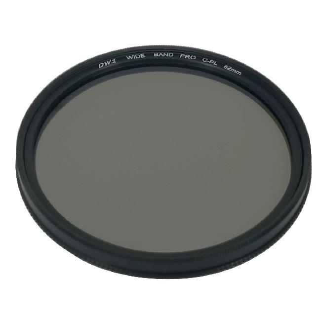 فیلتر لنز زومی مدل 62mm DW1 Wide Band PRO C-PL
