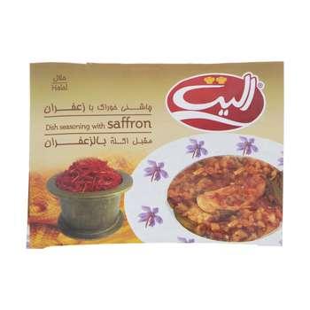 چاشنی خوراک با زعفران الیت - 15 گرم