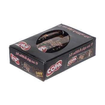 ویفر کوپا با طعم شکلات تلخ بسته 12 عددی