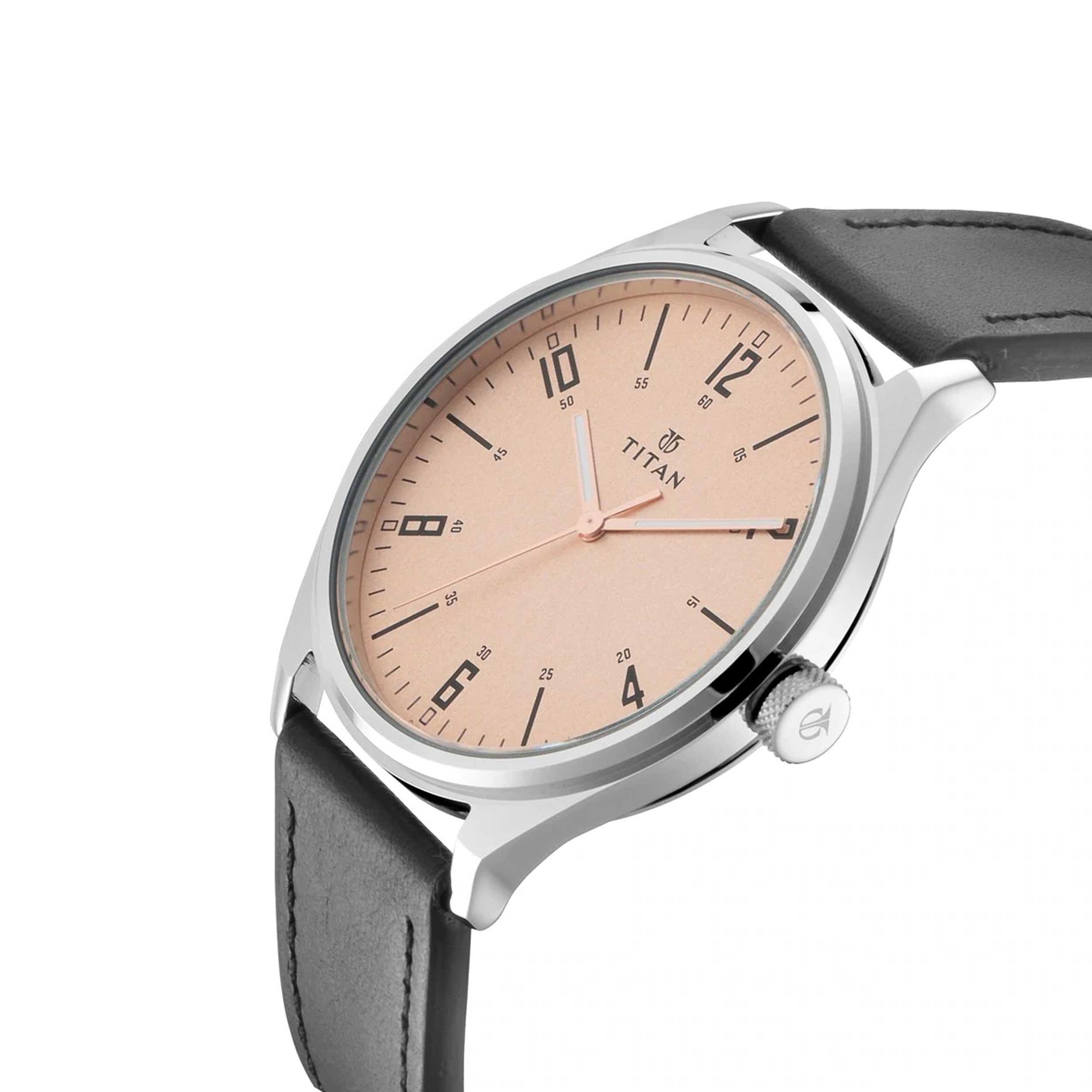 ساعت مچی  مردانه تایتن مدل T1802SL03              اصل