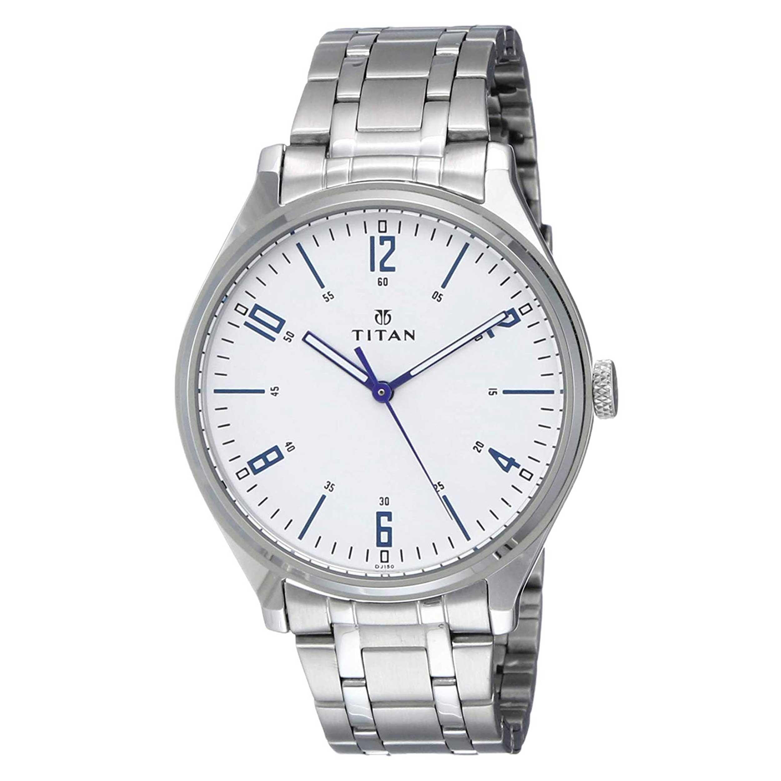 ساعت مچی عقربه ای مردانه تایتن مدل T1802SM01