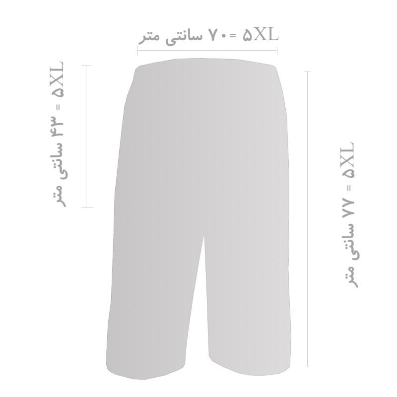 شلوارک مردانه فتوحی کد 4KH-30249