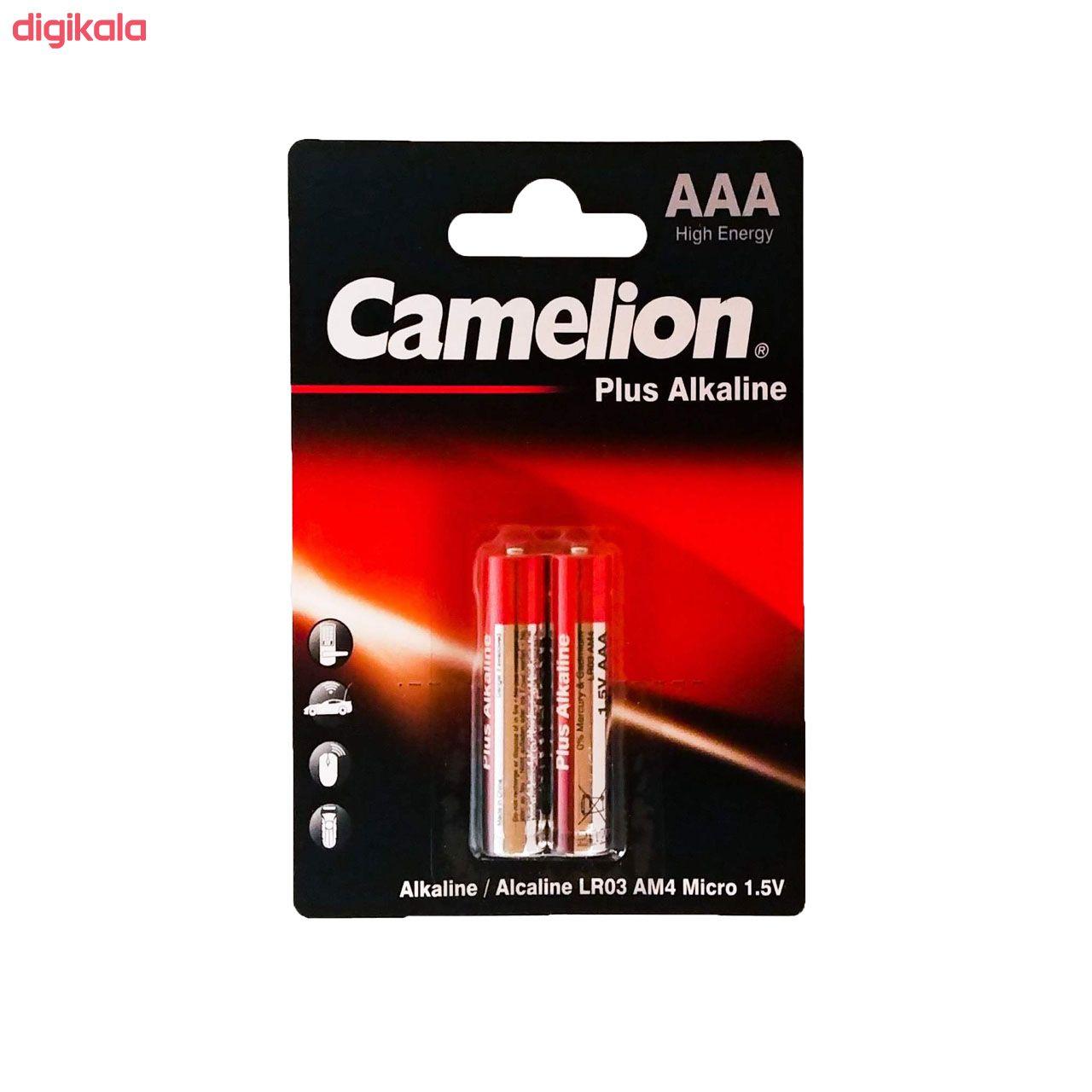 باتری نیم قلمی کملیون مدل Plus Alkaline کد 021 بسته 2 عددی main 1 1