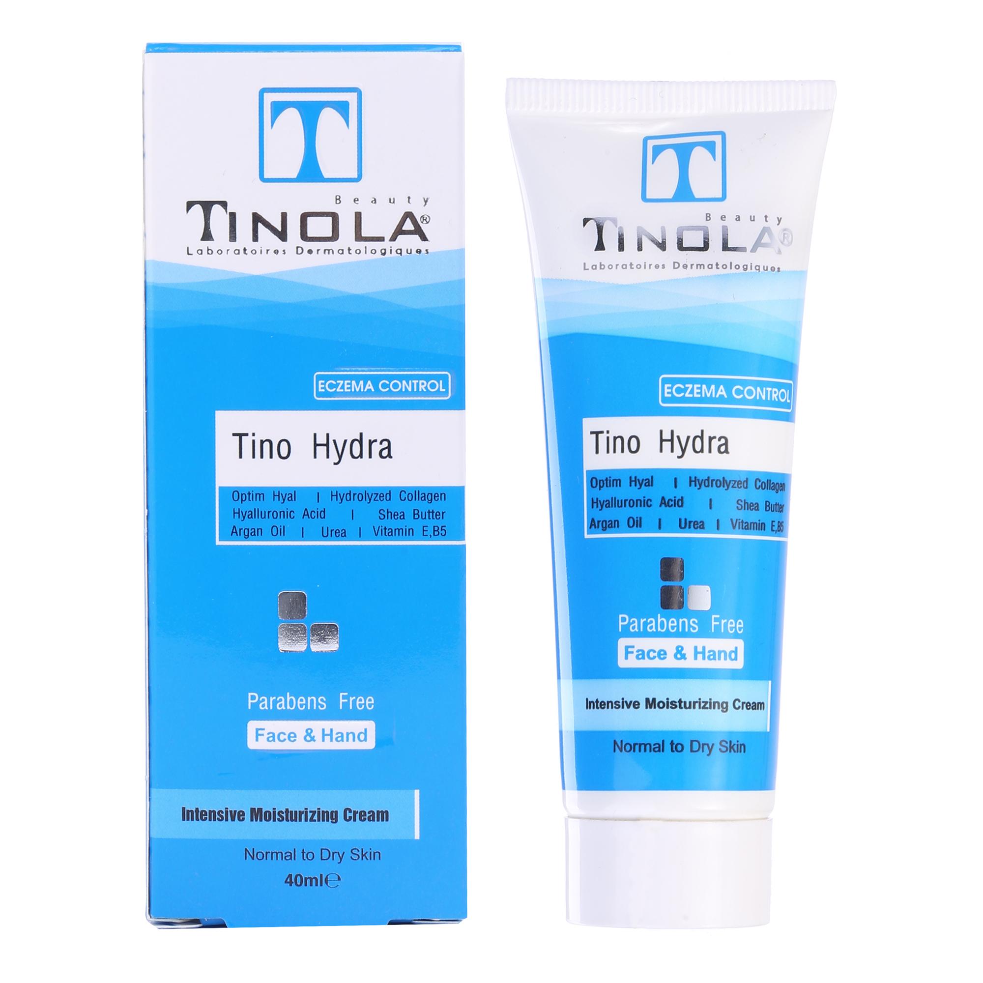 کرم مرطوب کننده تینولا بیوتی مدل Tino Hydra حجم 40 میلی لیتر